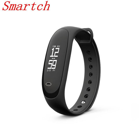Smart Band Pedometer Sleep Heart Rate Fitness Tracker