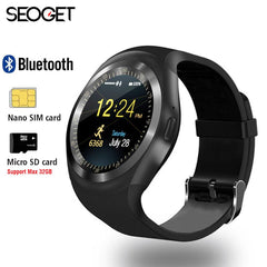 "1.54"" Bluetooth Smart Fitness Watch Android IOS 2G"