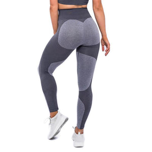 Ladies  High Waist Elastic Yoga Leggings