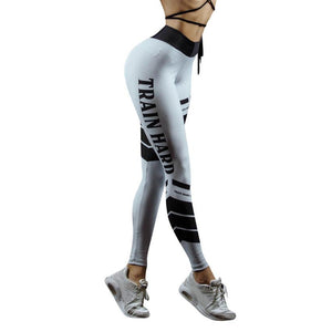 2018 Women High Waist Yoga Sport Running Pants