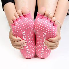 Women's Half Toe Ankle Yoga Socks