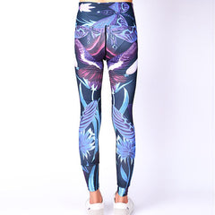 Yoga Serve Printing Pants Motion Run Speed Do Pants Superior Quality Elasticity Tight Trousers Comparable Lulu Pants