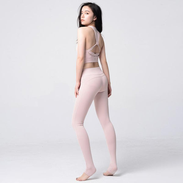 LULU With Foot The Foot Yoga Ammonia Motion Trousers Speed Do Elastic Force Bodybuilding Pants