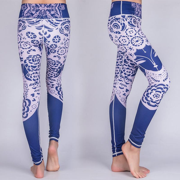 Agleroc Yoga Serve Printing Pants Motion Run Speed Do Pants Superior Quality Elasticity Tight Trousers Comparable Lulu Pants