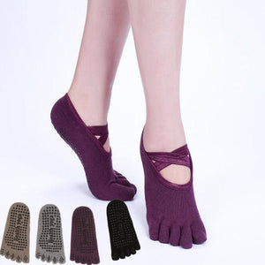 Women's Yoga Grip Socks Full Toe
