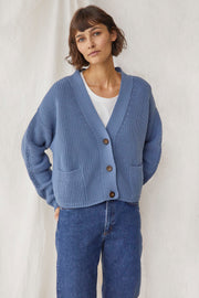 Preila Cardigan - Baltic Blue