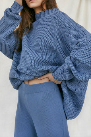 Laumes Sweater - Baltic Blue