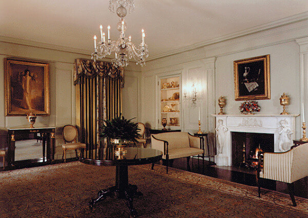 Vermeil Room in the White House