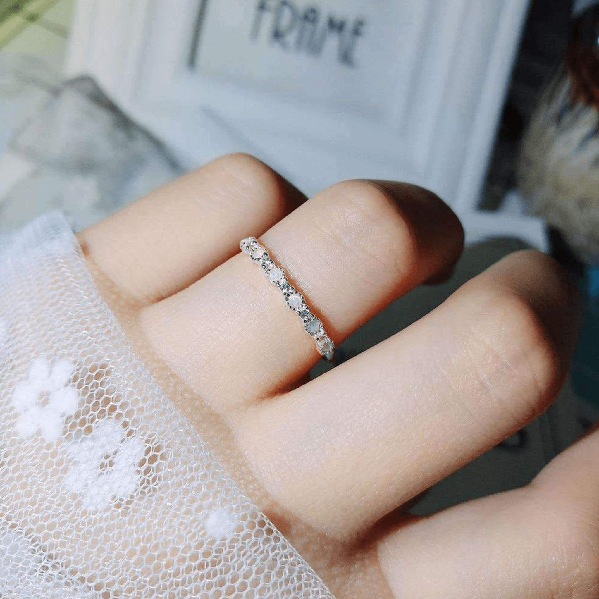 dot ring,sterling silver ring,stacking ring,simple ring,925 Sterling Silver Ring,Statement Ring,Dainty Ring,Promise Ring,Dotted Silver Ring