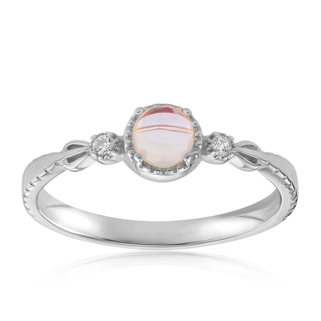Mystic Moonstone Mood Ring