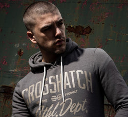 Crosshatch hoodies for your weekend hangout