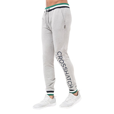 Mens Jogger Pants Crosshatch Webster Tracksuit Jogging Trousers - Kandor Clothing Company Ltd UK