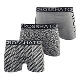 Crosshatch Mens Boxers Shorts (6 Pack) Multipacked  Underwear Gift  Set Gleasea