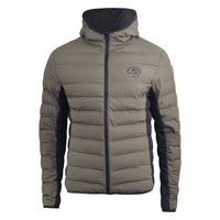 Mens Jacket Crosshatch Otowa bubble Padded Full Zip Winter Coat - Kandor Clothing Company Ltd UK