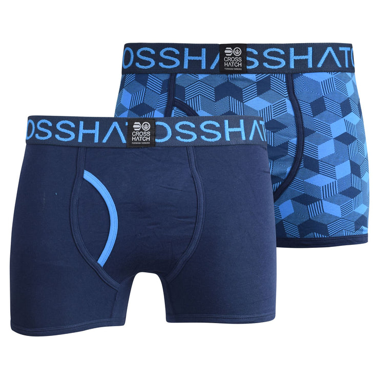 Mens multipack Boxers Crosshatch Prizion - Kandor Clothing Company Ltd UK
