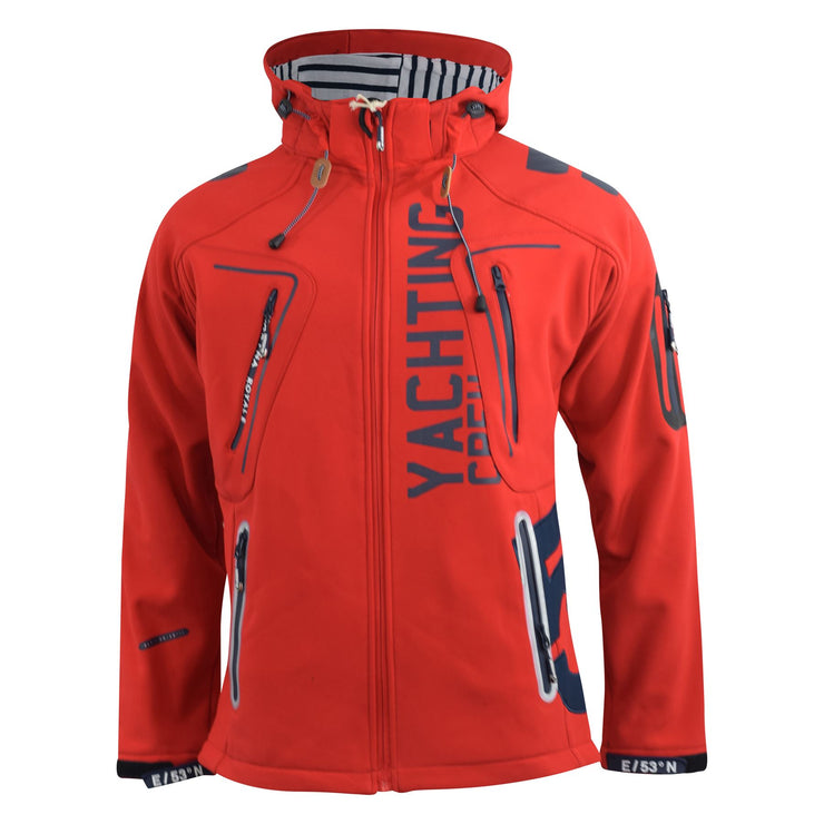 , Mens Jacket Geographical Norway Softshell Toublerona Outdoor Sport Coat