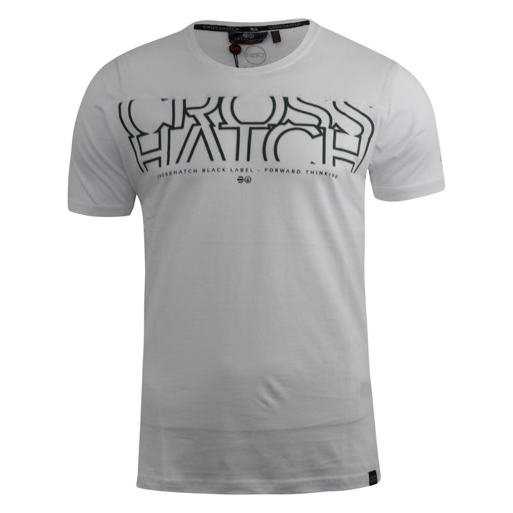 Mens t-shirt crosshatch top kutdown - Kandor Clothing Company Ltd UK