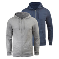 Mens Hoodies 2 Pack Smith and Jones Sweatshirt Gridiron plain Hoodie - Kandor Clothing Company Ltd UK