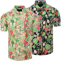 Mens Hawaiian Shirt Funky Casual Summer Top Fruity - Kandor Clothing Company Ltd UK