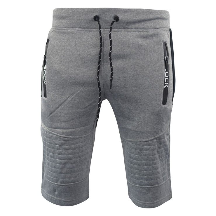 Mens Jogger 3/4 Shorts D-Rock Half Pants Sport Trousers Casual Bottom - Kandor Clothing Company Ltd UK