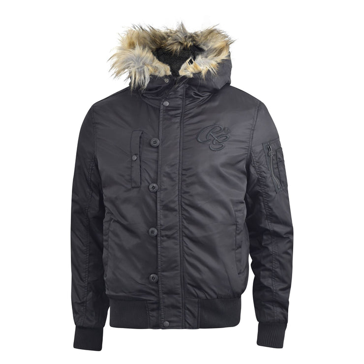 Mens heavy Parka Crosshatch  jacket  Cacton - Kandor Clothing Company Ltd UK