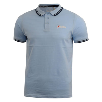 Mens polo T-shirt life and glory pique thedaa top - Kandor Clothing Company Ltd UK