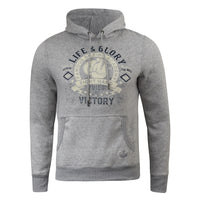 Mens Hoodie Life and Glory Vintage Graphic Sweatshirt  Winter Hoody - Kandor Clothing Company Ltd UK