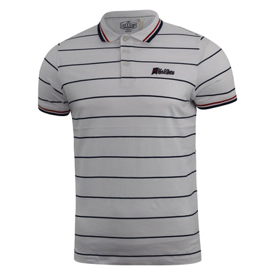 Mens Polo Shirt Life and Glory Pique Taliman Tee Top - Kandor Clothing Company Ltd UK