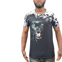 Mens t-shirt juice panther sublimated longline top - Kandor Clothing Company Ltd UK