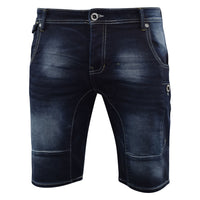 Mens Denim Short Summer  Firetrap  Jeans Knee Length Pants Skeena - Kandor Clothing Company Ltd UK
