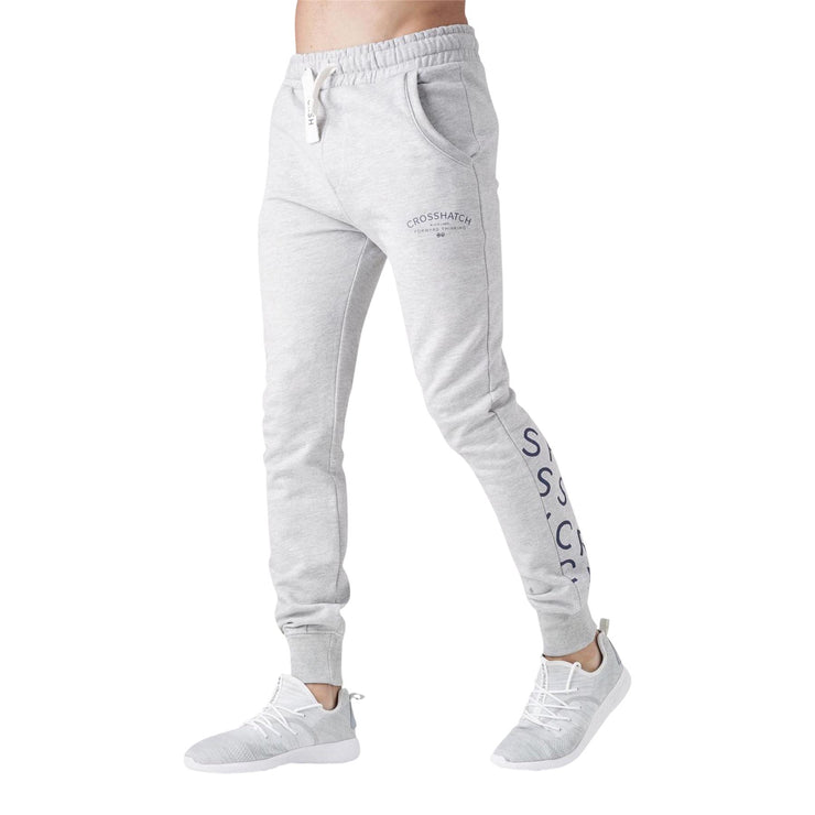 Mens joggers pants crosshatch leeroy - Kandor Clothing Company Ltd UK