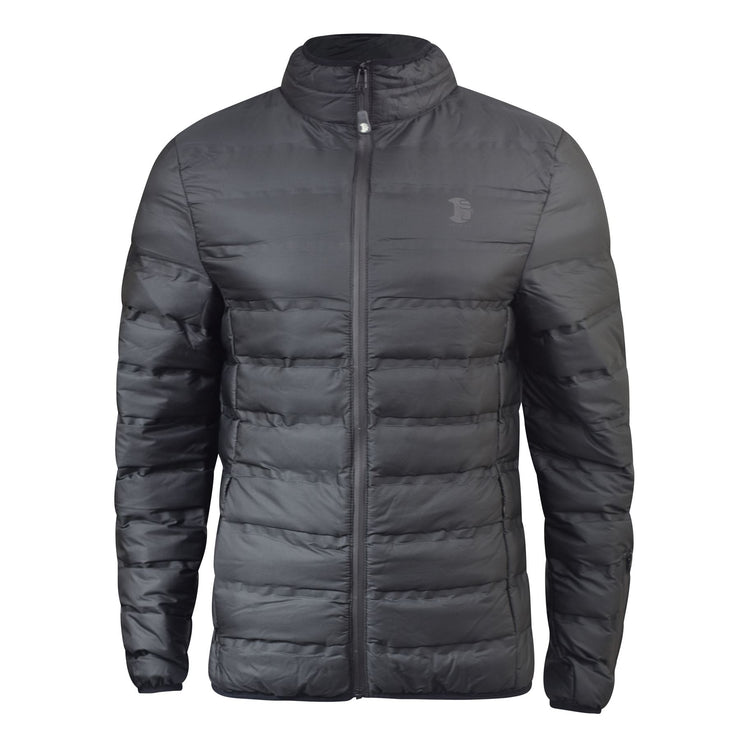 Mens Winter Jacket Smith and Jones Padded Quilted Bubble Lined Coat - Kandor Clothing Company Ltd UK