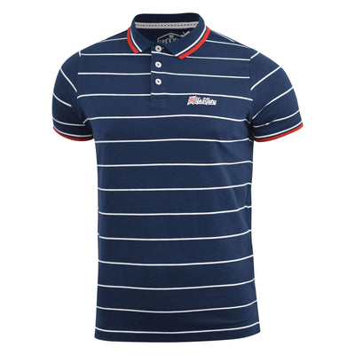 Mens polo T-shirt life and glory pique taliman top - Kandor Clothing Company Ltd UK