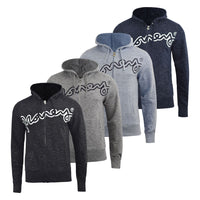 Mens Hoodie Money Clothing Full Zip Sweatshirt  Hooded Jumper Top Pullover Barney - Kandor Clothing Company Ltd UK