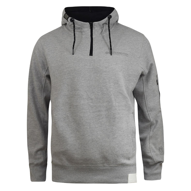 Mens Hoodie Crosshatch Cravy Sweatshirt  Hooded Top - Kandor Clothing Company Ltd UK