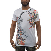Mens T-Shirt Juice Orient Sublimated Longline Tee Top - Kandor Clothing Company Ltd UK