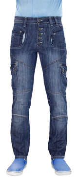 Mens Jeans Rawcraft New Cargo Combat Denim Pants Rachet quality Jeans - Kandor Clothing Company Ltd UK