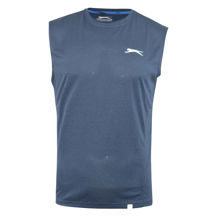 Mens Vest Slazenger Light Weight Sleeveless T Shirt Top Neave - Kandor Clothing Company Ltd UK