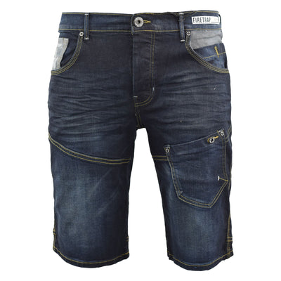 Mens Jeans short firetrap Leepoc - Kandor Clothing Company Ltd UK