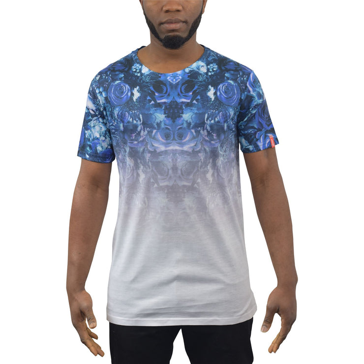 Mens T-Shirt Juice Shutter Graphic Longline Tee Top( - Kandor Clothing Company Ltd UK
