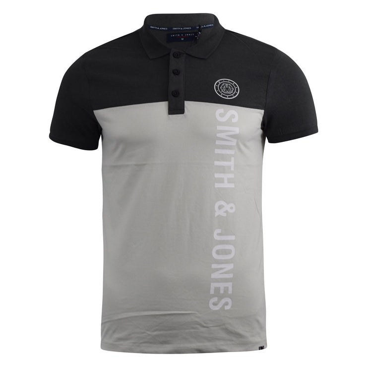 Mens Polo Shirt Smith and Jones Collared Tee Top Rendall - Kandor Clothing Company Ltd UK