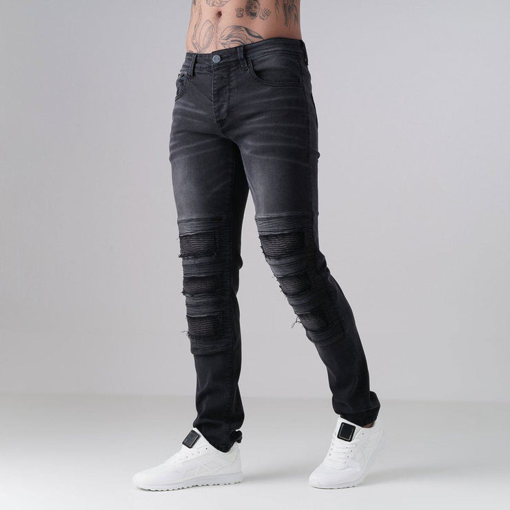 Mens Skinny Jeans Born Rich Cesc - Kandor Clothing Company Ltd UK