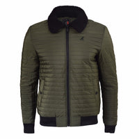Mens Jacket Kangol Quilted Soft Touch Jacket Ultra Light Weight Winter Coat - Kandor Clothing Company Ltd UK