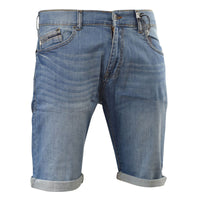 Mens Denim Shorts New Smith and Jones Knee Length Dock Jeans Pants - Kandor Clothing Company Ltd UK