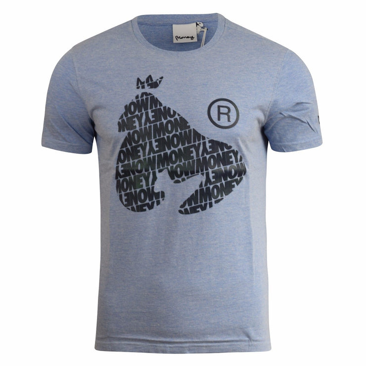 Mens T-shirt Money Clothing  Ape Repeat Tee Top - Kandor Clothing Company Ltd UK