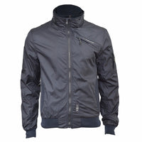 Mens Jacket Crosshatch Winsford Double Layer Funnel Neck Windbreaker Coat - Kandor Clothing Company Ltd UK