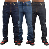 Mens Jeans Firetrap Durable Straight Leg Regular Fit Casual Denim Jeans - Kandor Clothing Company Ltd UK