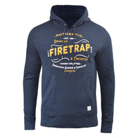 Mens Hoodie Firetrap Overhead Townson Hooded Jumper Sweatshirt Top - Kandor Clothing Company Ltd UK
