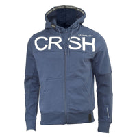 Mens Hoodie Crosshatch Zip Up Hooded Cale Jacket Pullover Jumper Sweatershirt - Kandor Clothing Company Ltd UK