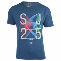 New Mens T-Shirt Smith and Jones Printed Top Cotton Casual Summer Tee - Kandor Clothing Company Ltd UK